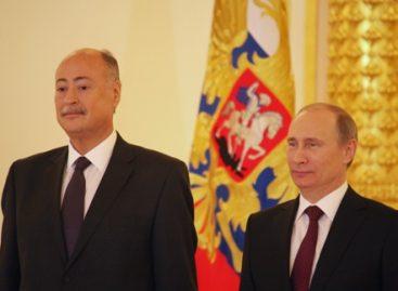 Embajador Rubén Beltrán presentó cartas credenciales al presidente de Rusia, Vladimir Putin