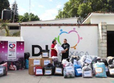 """Apoya Seguridad Pública campaña """"Abraza a tu hermana y hermano"""", del DIF-Oaxaca"""