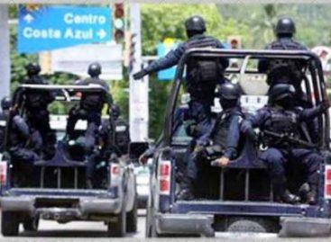 Detiene Policía Federal a dos delincuentes en Acapulco, por denuncia ciudadana