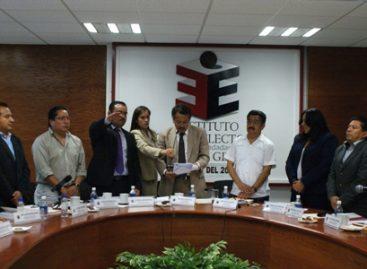 Entregan constancias de registro de plataformas electorales a partidos políticos en Oaxaca