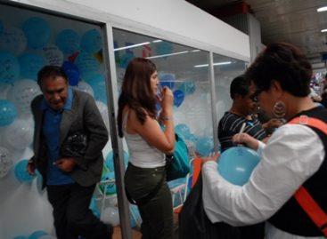 Presenta STC Metro performance en estación Pino Suárez; participan 14 artistas