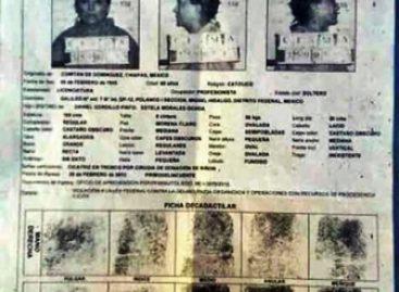 Filtran en las redes sociales la presunta ficha de Elba Esther Gordillo
