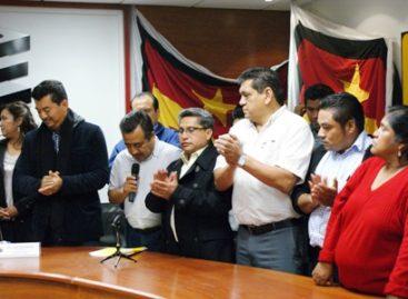 Recibe IEEPCO solicitud de registro de coalición del PAN, PRD y PT