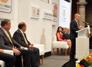 Impulsará Agencia de Gestión Urbana, innovación y posicionamiento mundial del DF: Mancera Espinosa