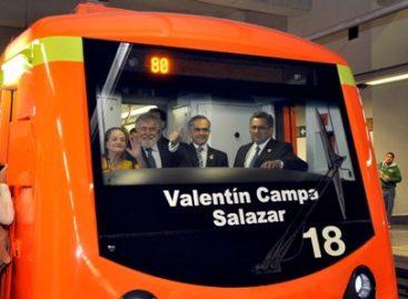 """Nombra Jefe de Gobierno del DF a tren de la línea 12 del Metro """"Valentín Campa Salazar"""""""