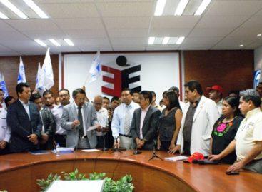Concluyen partidos políticos entrega de plataformas electorales en Oaxaca