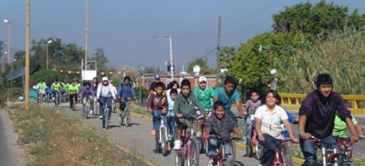 Recorre Paseo Dominical Bienestar número 44 de Oaxaca de Juárez a Tlalixtac de Cabrera