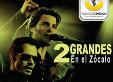 Reiteran medidas preventivas y de seguridad para concierto de Chayanne y Marc Anthony hoy en el zócalo