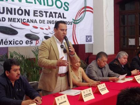 Delegado en Oaxaca del CEN de la Sociedad Mexicana de Ingenieros