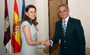 Presidenta del Gobierno de Castilla-La Mancha-Jefe de Gobierno del DF