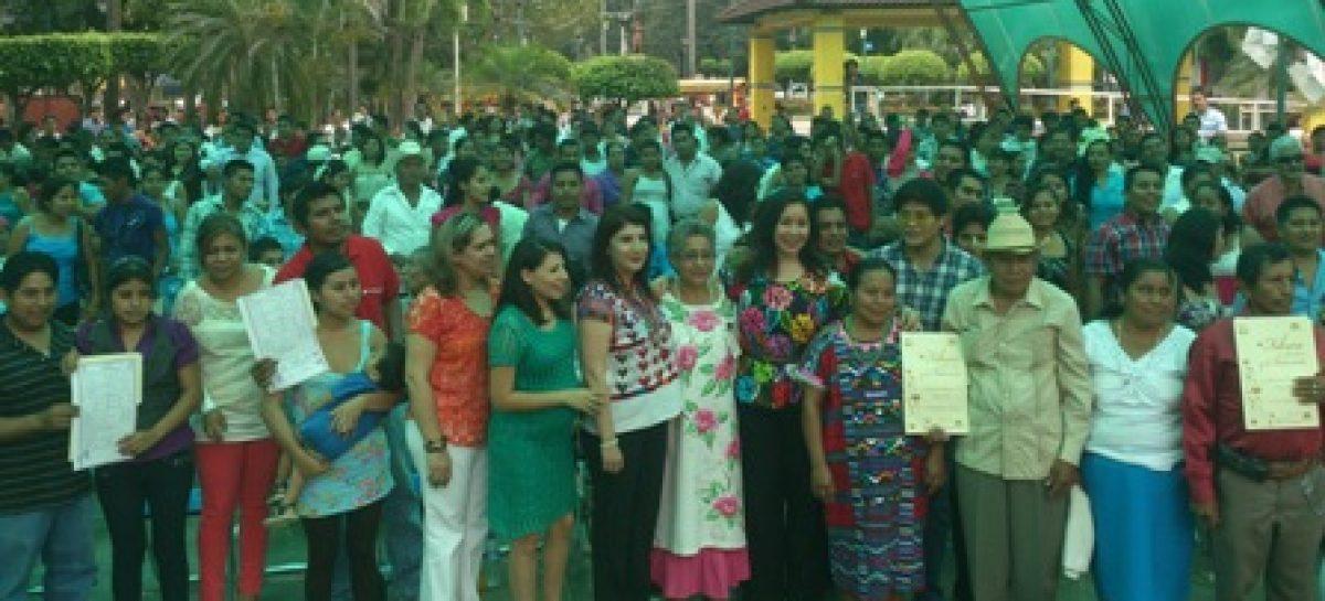 Legalizan unión matrimonial más de seis mil parejas en Oaxaca