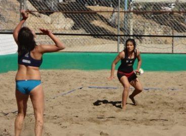 Califican representativos de Oaxaca y Veracruz a la etapa nacional en Voleibol de Playa para la Olimpiada 2013