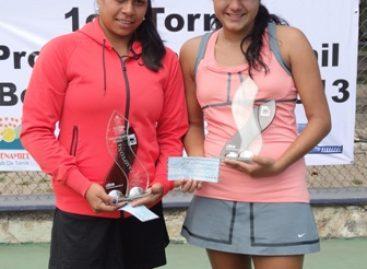 Gana la potosina Carolina Betancourt Primer Torneo Profesional Femenil de Tenis, en Oaxaca