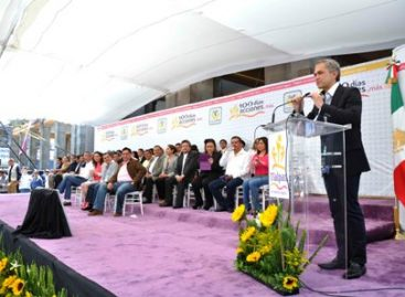 Respondemos a la confianza de la ciudadanía cumpliendo: Mancera Espinosa