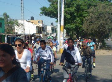 Se suman madres de familia al Paseo Dominical Bienestar número 48, en Oaxaca