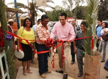 Inaugura Sedesol obras de Empleo Temporal en San Agustín Yatareni, Oaxaca