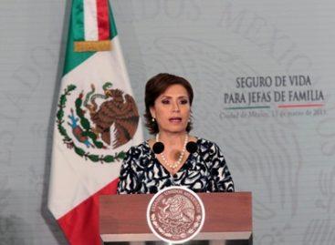 Asegurará Sedesol a 1.7 millones de mujeres jefas de familia en el país: Rosario Robles