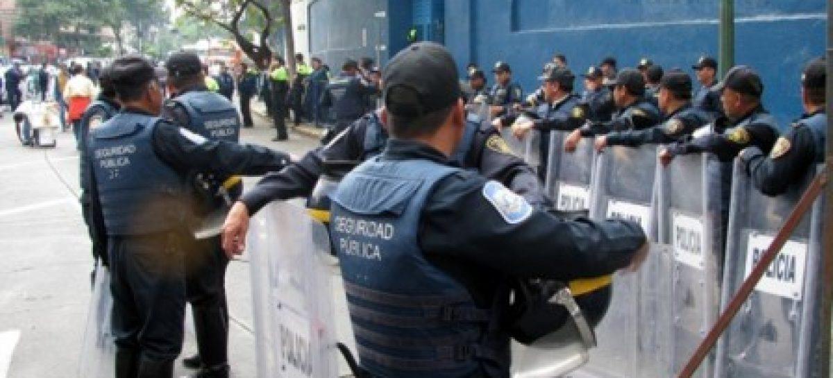 Implementan autoridades del DF operativo de seguridad y vigilancia ante marcha del SNTE
