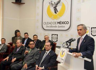 Presenta Jefe de Gobierno iniciativa para derogar figura de arraigo en el Distrito Federal