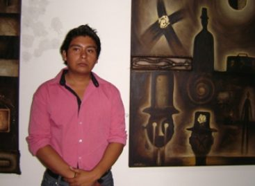 """Expone Jacobo Morales """"Baúl con candado"""" en la Facultad de Derecho de la UABJO"""