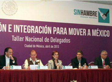 Coordinación, no subordinación a gobernadores, pide Rosario Robles a delegados de Sedesol