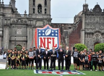 Promoverá activación física de niños y jóvenes convenio entre gobierno del DF y la NFL: Mancera Espinosa