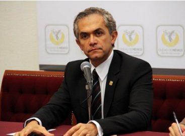 Es Ciudad de México referente internacional por políticas públicas de avanzada: Mancera Espinosa