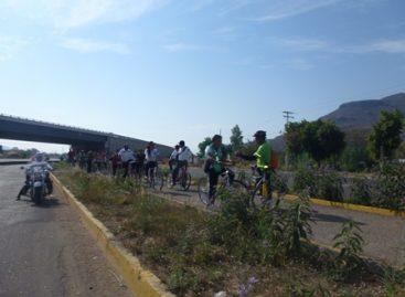 Familias participantes del paseo dominical Bienestar numero 51 estrenan horario de verano