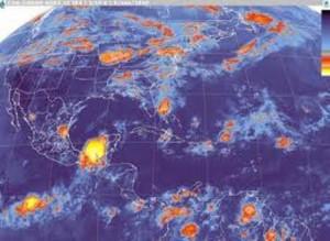 Probables tormentas eléctricas