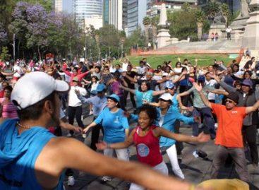 """Conmemoran """"Día Mundial de la Salud y de la Activación Física"""" en la ciudad de México"""