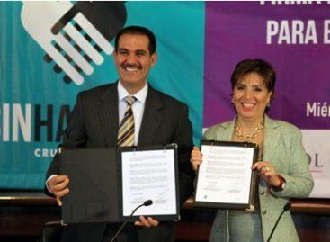 Firman Sedesol y Sonora Acuerdo Integral para el Desarrollo Social Incluyente