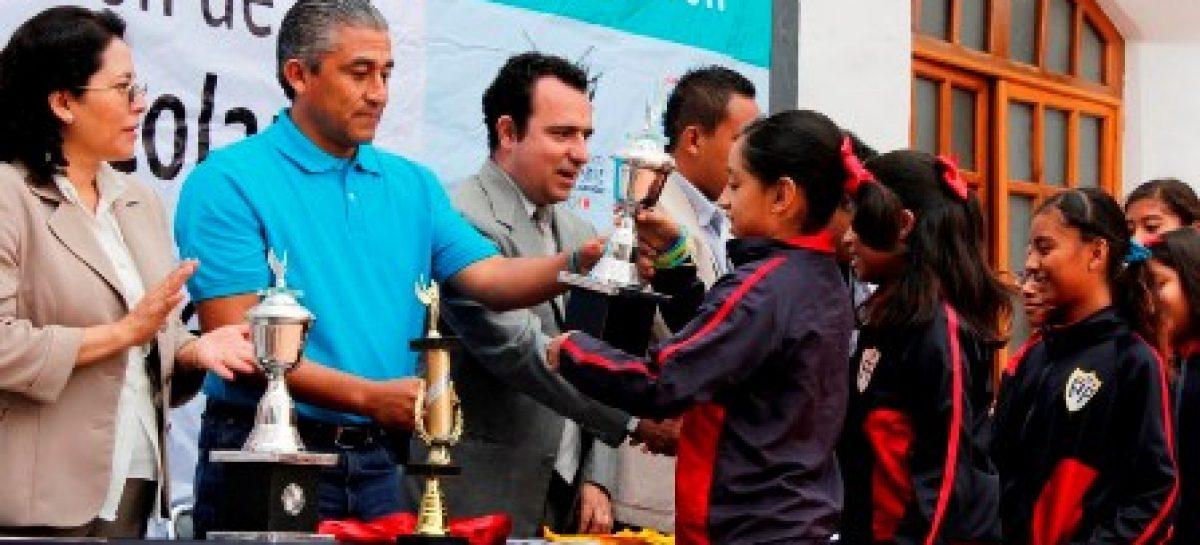 Inauguran Juegos Infantiles Escolares de Nivel Primaria 2013-2014