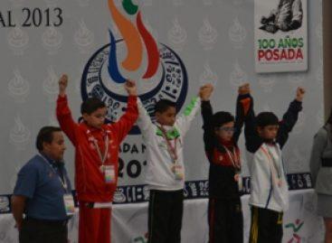 Logra tuxtepecano William Arroyo Reyes la primera medalla de oro en formas para Oaxaca
