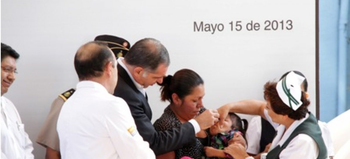Aplicarán más de 500 mil dosis de vacunas durante Segunda Semana Nacional de Salud 2013 en Oaxaca
