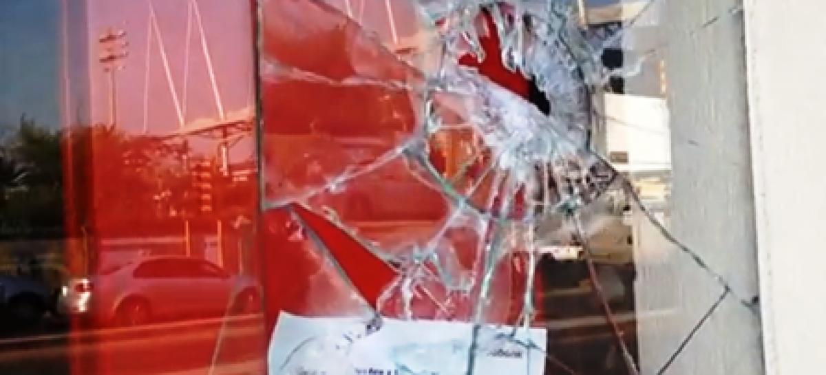Se registran actos vandálicos durante la celebración de El Día del Trabajo en Oaxaca