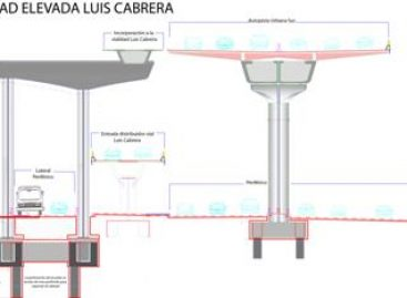 Presenta vialidad elevada de Luis Cabrera avance del 93 por ciento: Rábago Martínez