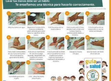 Lavado de manos con agua y jabón, clave para el control de infecciones: IMSS