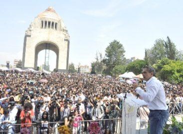 Necesaria fuerza de los jóvenes para apuntalar a la Ciudad de México: Mancera Espinosa