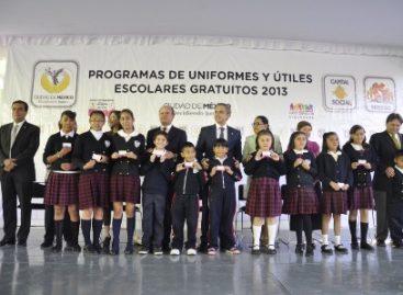 Enviarán iniciativa de ley para hacer obligatoria entrega de uniformes escolares, en el DF