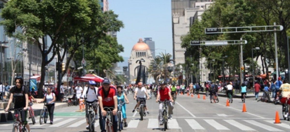 Tiene Ciclotón Familiar récord de asistencia; 48 mil personas disfrutan las calles de la Ciudad de México