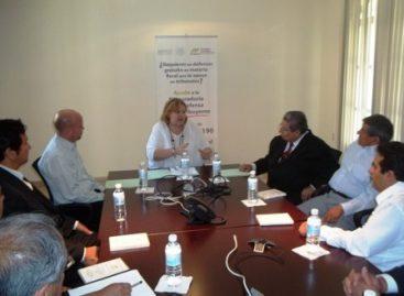 Debe Estado garantizar derechos de contribuyentes; Firman convenio Prodecon y Colegio de Contadores
