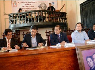 Renuevan Congreso de Oaxaca y UABJO convenio de colaboración en materia jurídica