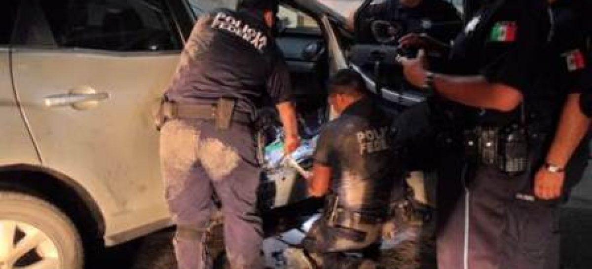 Asegura Policía Federal más de 25 kilogramos de droga sintética en Coahuila; una detenida