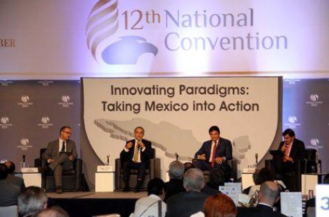 Vamos en la ruta correcta en materia de competitividad: Mancera Espinosa