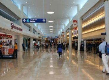 Aseguran maleta con droga en el Aeropuerto Internacional de Cancún, Quintana Roo