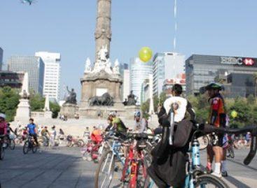 Celebra Ciclotón Familiar de la Ciudad de México cifra récord de 50 mil asistentes