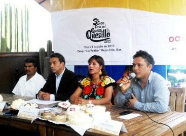 Presentan Tercera Feria del Queso y el Quesillo 2013 en el marco de la Guelaguetza