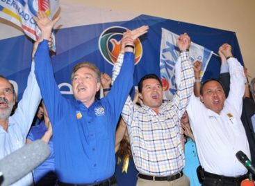 "Proclaman PAN y PRD triunfo de Francisco ""Kiko"" Vega a la gubernatura de Baja California"