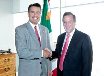 Se reúne Canciller Meade con el Gobernador de Nevada y el Alcalde de Tucson, Arizona