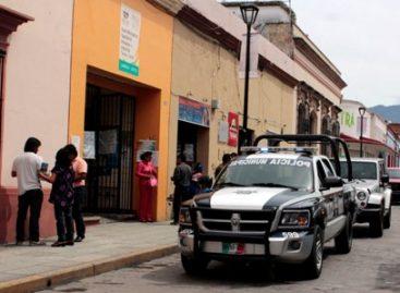 Detenidas 12 personas por faltas administrativas durante jornada electoral en la ciudad de Oaxaca